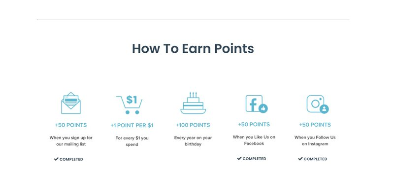 discount strategy - loyalty programme