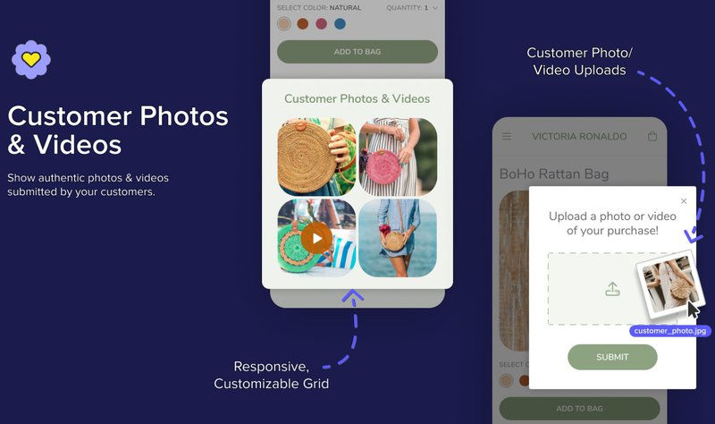 Fera Product Reviews app - features