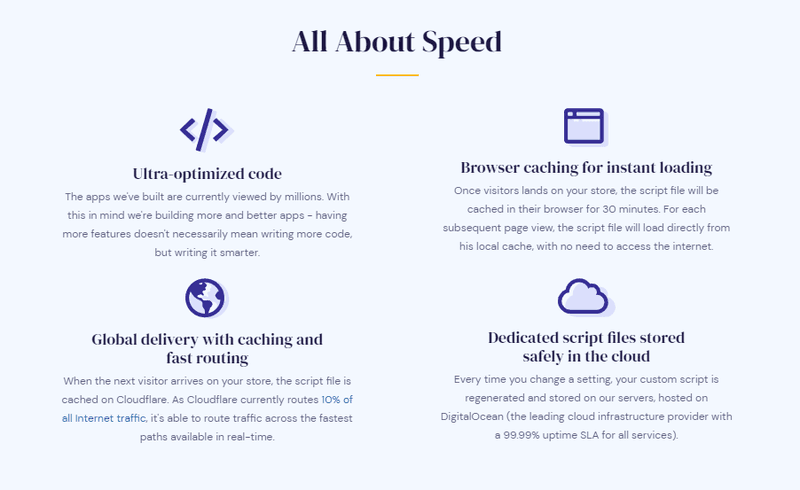 Vitals speed features