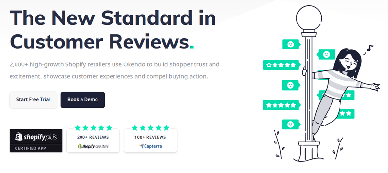 Judge.me alternatives: Okendo Product Reviews and UGC