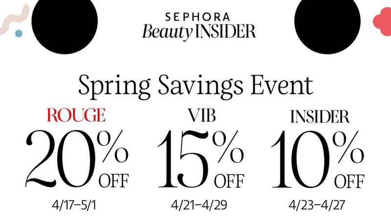 Vitals Shopify Upsell - Sephora Spring Savings