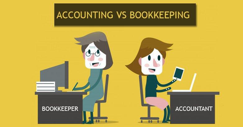 Amazon accounting vs. bookkeeping