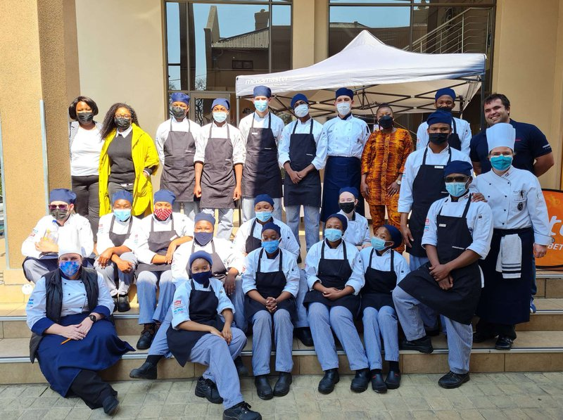 Heritage Day braaing at Capital Hotel School
