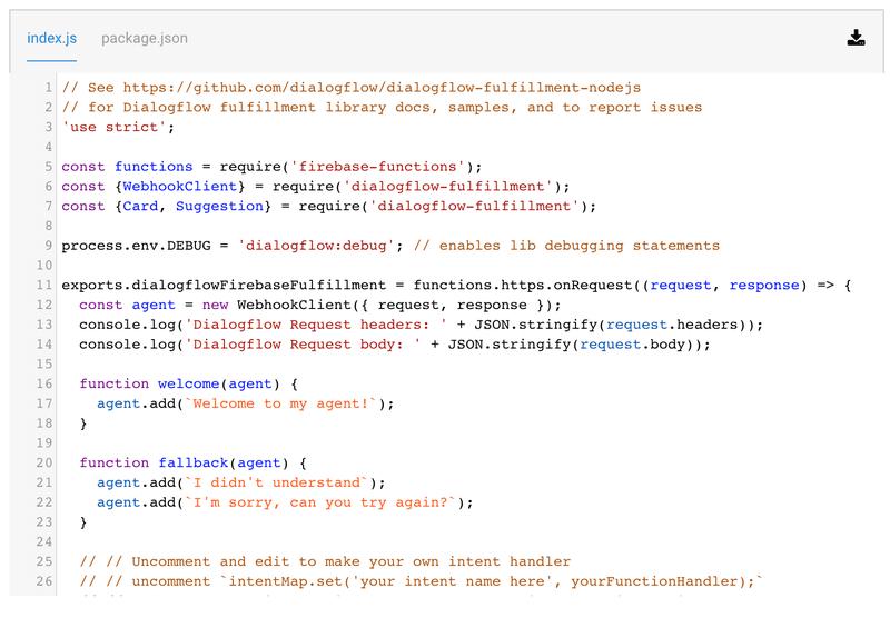webhook cloud function code