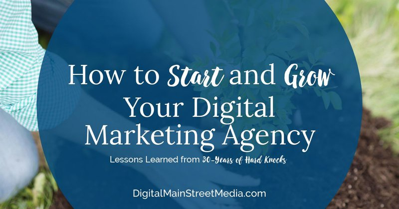 How to Start and Grown Your Digital Marketing Agency - feature image