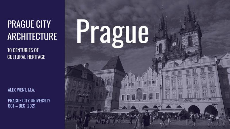 PCU Prague City Architecture