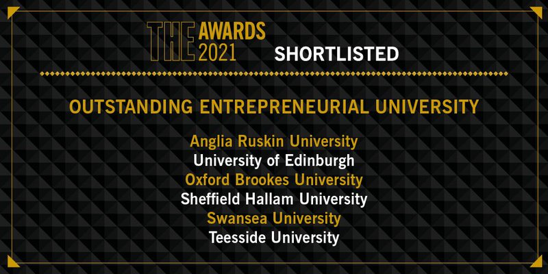Teesside University shortlisted