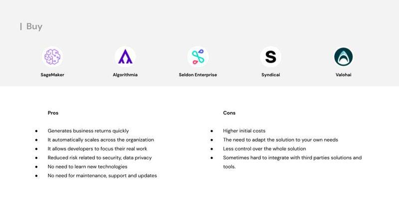 build or buy mlops platform