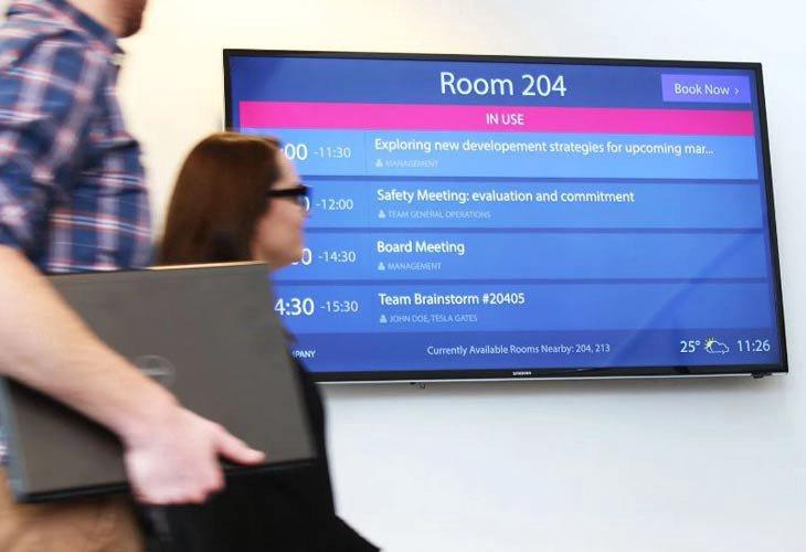 Digital Signage - zakazivanje konferencijske sale