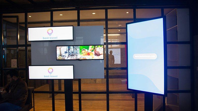 Algotech - digital signage ekrani