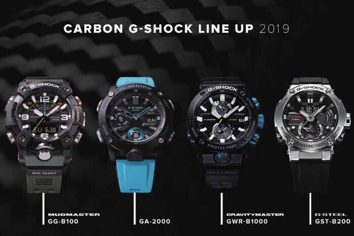 G-Shock Karbon