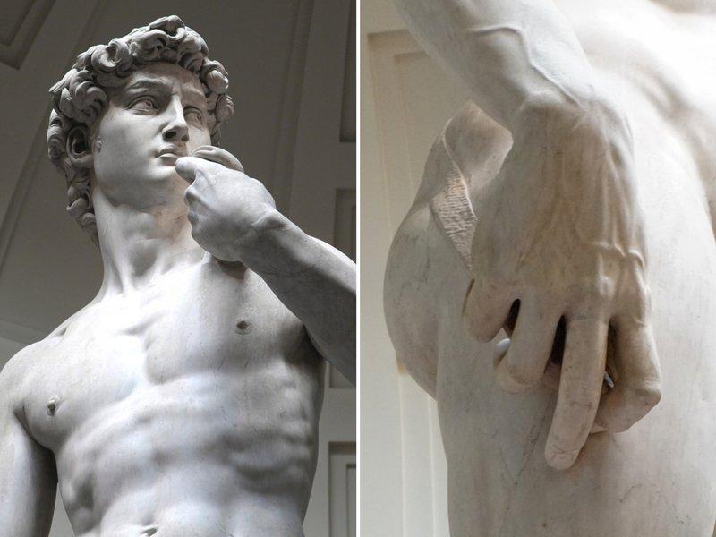 Patung David karya Michelangelo