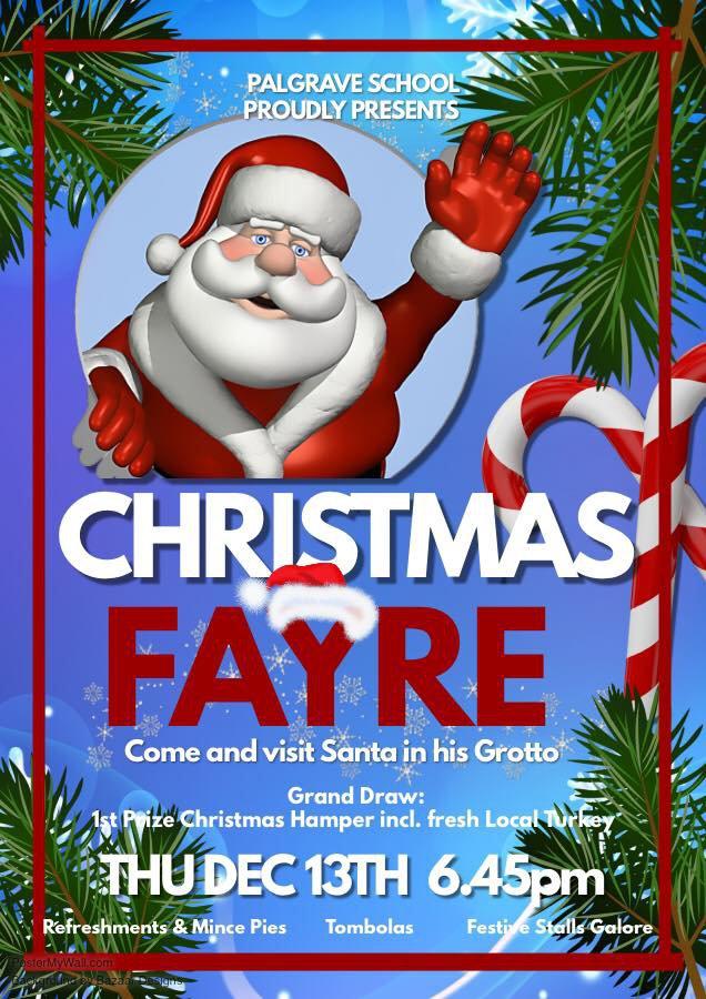 PTA Christmas Fair posters