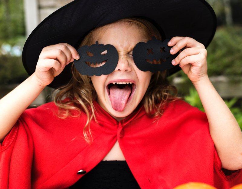 PTA Fundraising ideas - Girl in Halloween Costume