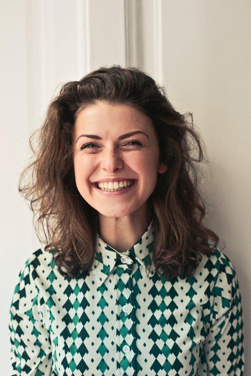 PTA woman smiling
