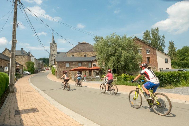 Maison de vacances vélo-friendly