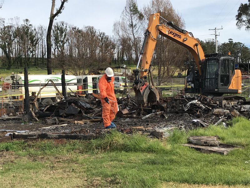 Gippsland Bushfire Clean up in Victoria - Enviropacific Remediation of Asbestos