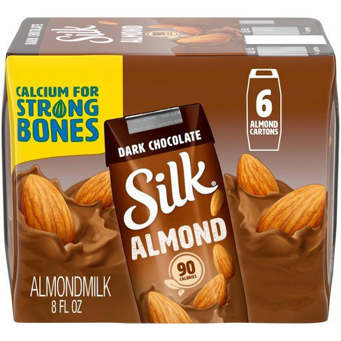 picture of chocolate almond milk