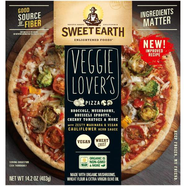 picture of a veggies lover pizza