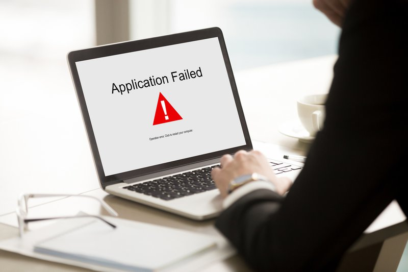 meeting software application failed on computer