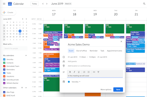 automated scheduling with demodesk