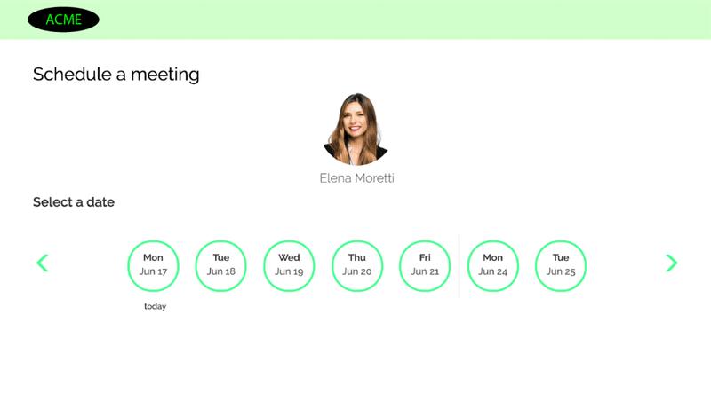 Demodesk custom branding automated scheduling