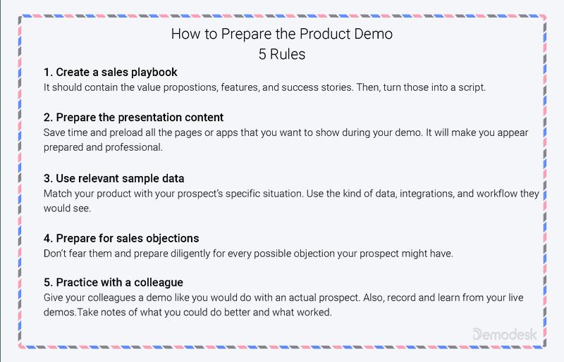 How to Prepare SaaS Demo
