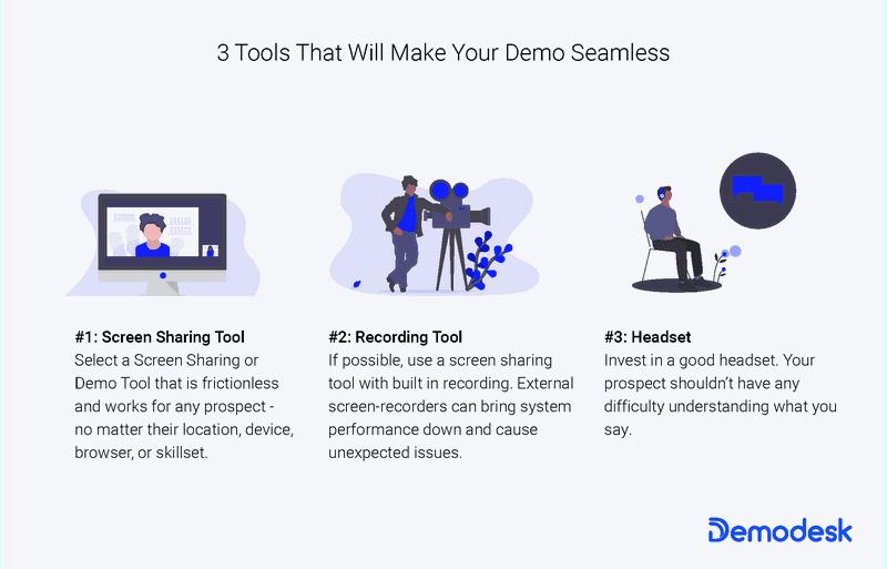 3 Tools for SaaS Demo
