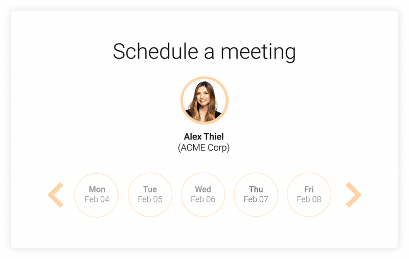 schedule a meeting for product demo