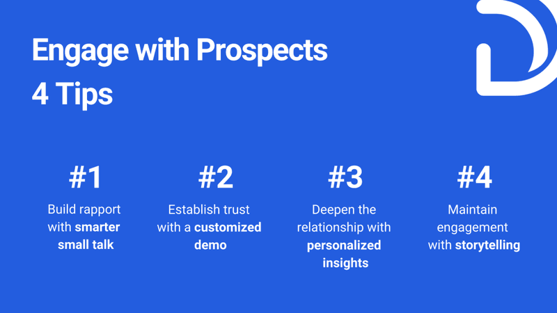 4 Tips to Engage with Prospects