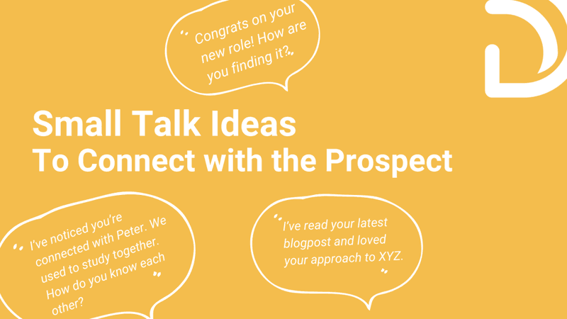 Talk Ideas to Connect with Prospect