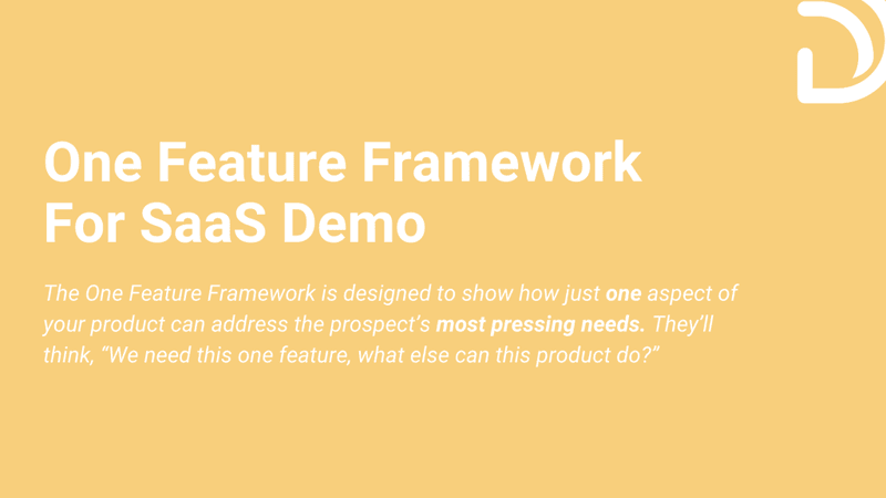 One Product Feature Framework - What it is