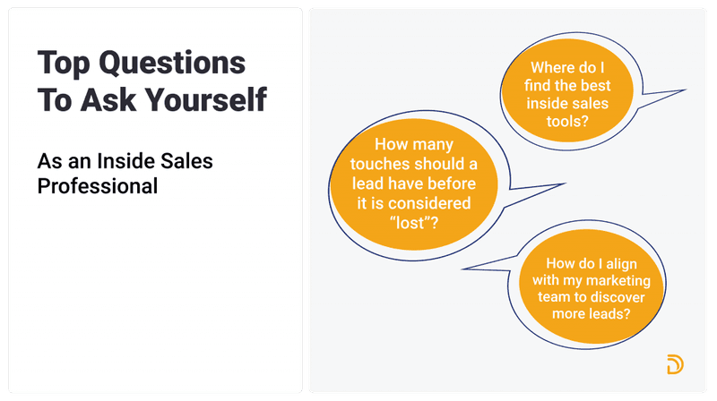 top questions to ask yourself- inside sales