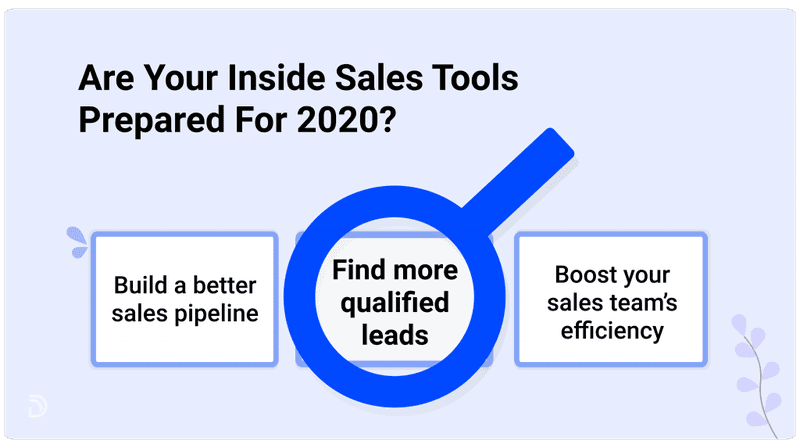 prepare your inside sales prospecting tools
