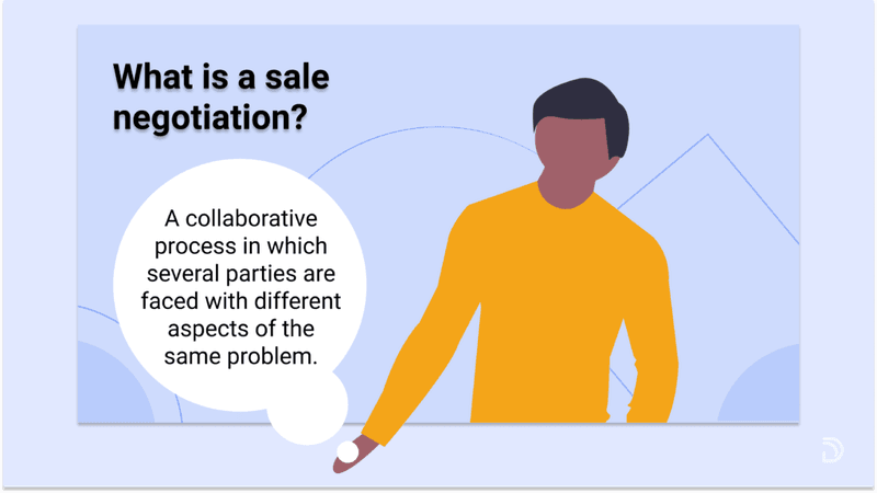 what is a sale negotiation