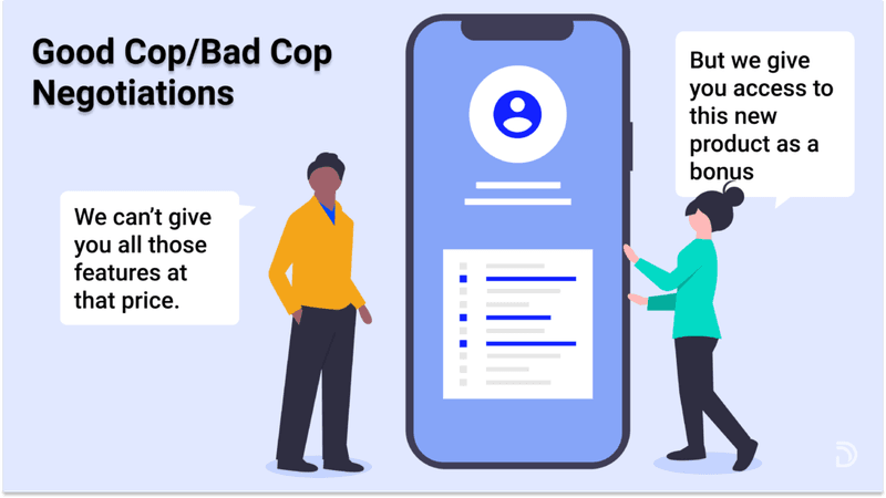 how to negotiate using the good cop/bad cop strategy