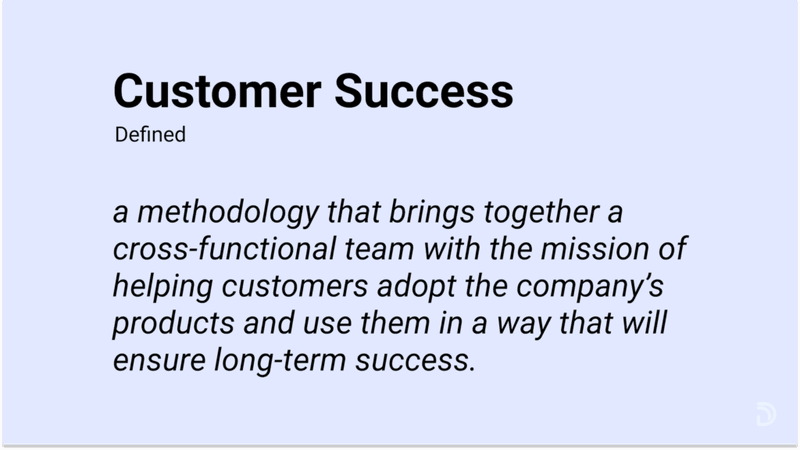 what is customer success? Defined