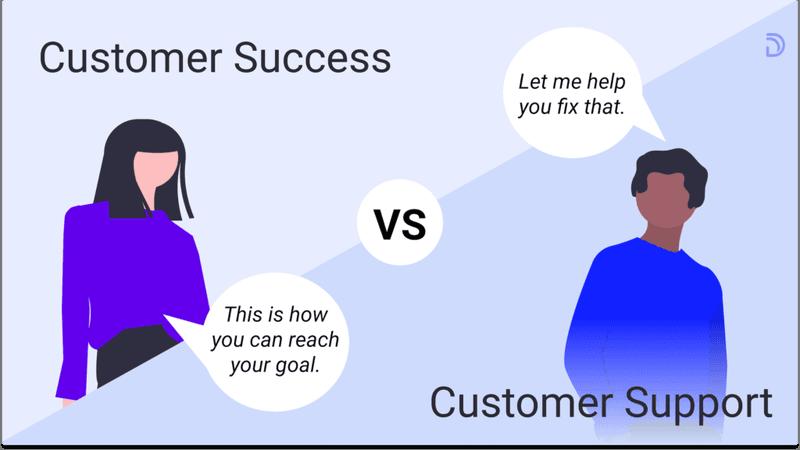 customer success vs customer support