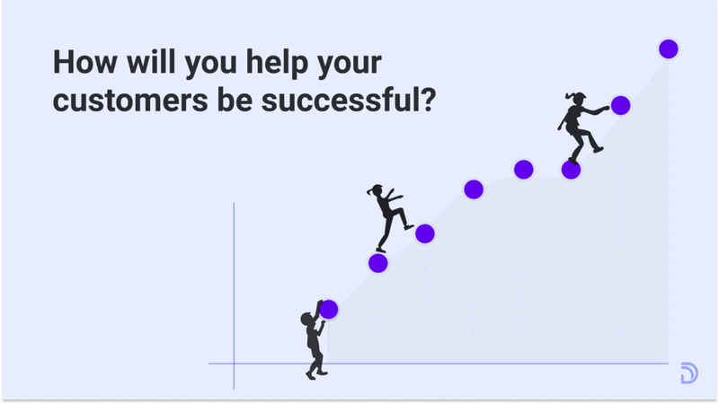 how will you help your customers be successful?