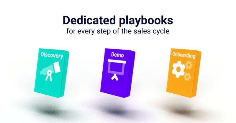 Sales Playbook: Dedicated Playbooks