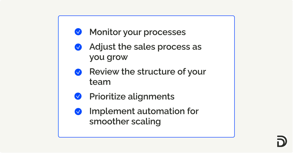 scaling sales team