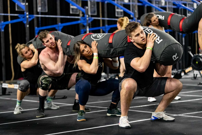 CrossFit Undefeated competing