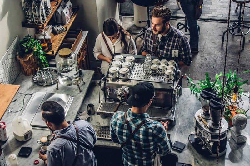 Cafe lineup