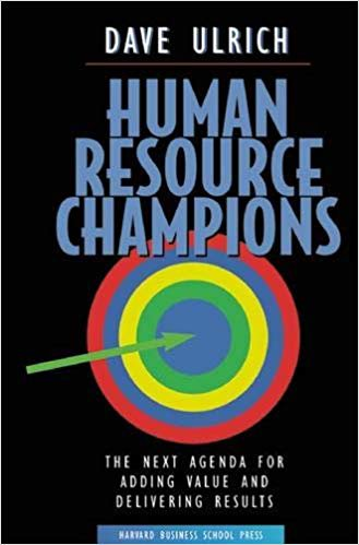 Human Resource Champions door David Ulrich