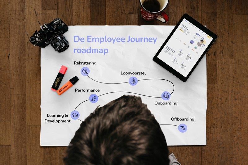 Wat houdt de employee journey in en hoe breng je die in kaart?