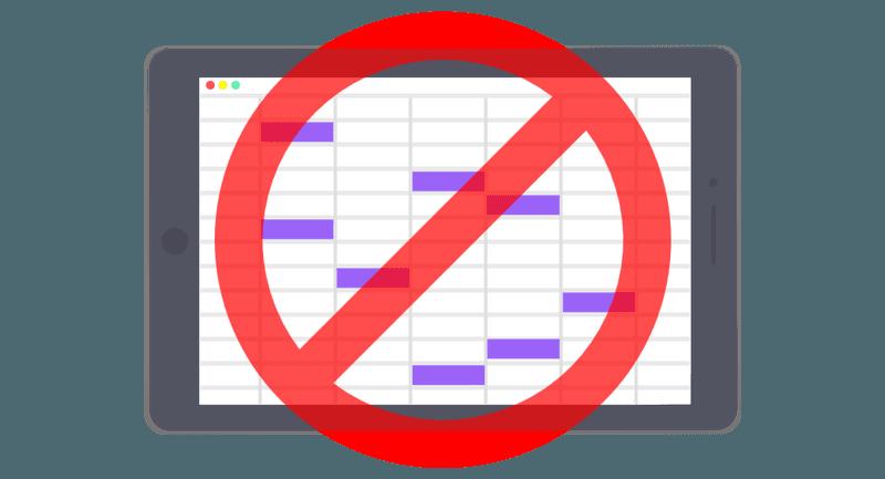 7 redenen waarom je beter geen Excel gebruikt voor HR taken.