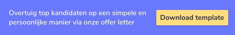 Via onze Offer template zorg je voor een gepersonaliseerd contractsvoorstel