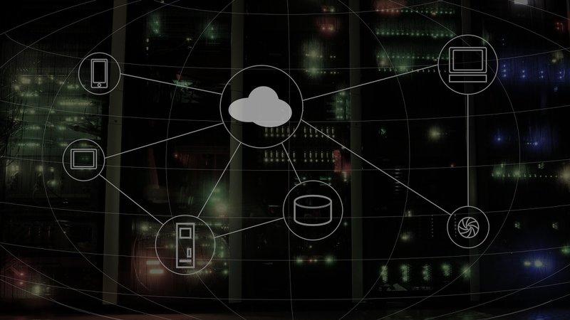 Image displaying cloud storage as part of MSP