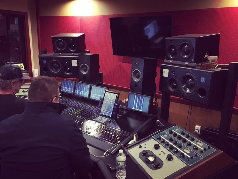 Michael Brauer's studio setup for stem mastering