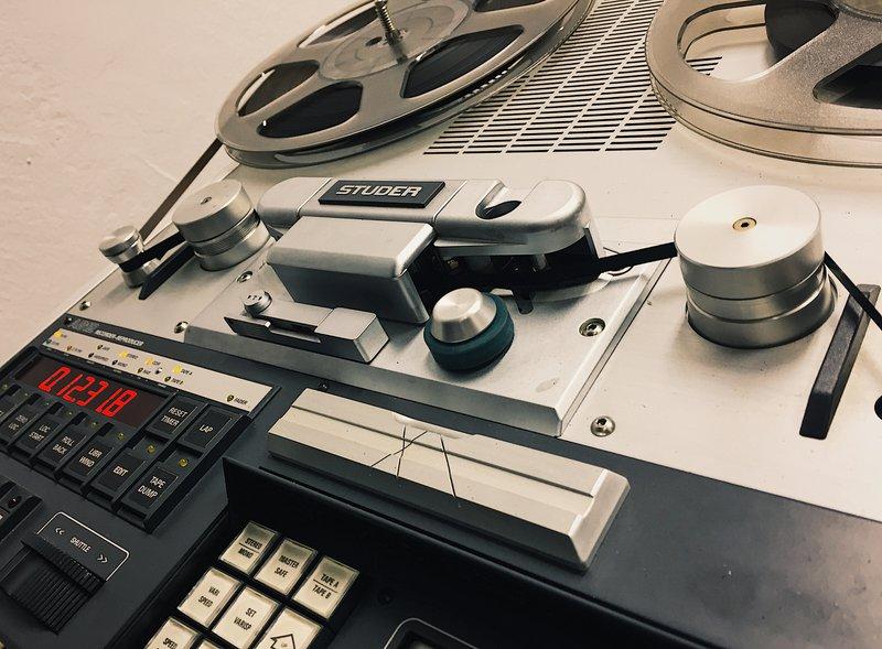 studer a812 mk1 tape machine